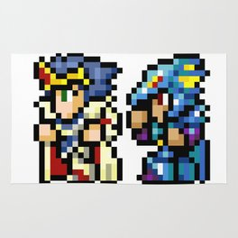 Final Fantasy II - Cecil and Kain Rug