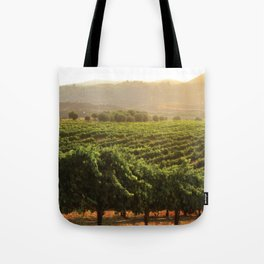 Wine Country Morning Tote Bag