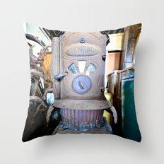 old iron Throw Pillow