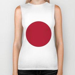 Japan flag emblem Biker Tank