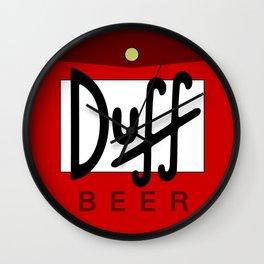 Duff Beer Wall Clock