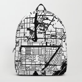 Las Vegas city map Backpack