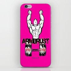 ARM BRUST PRO GYM iPhone Skin