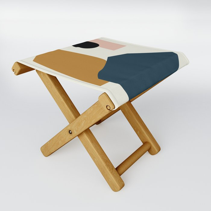 Shape study #1 - Lola Collection Folding Stool
