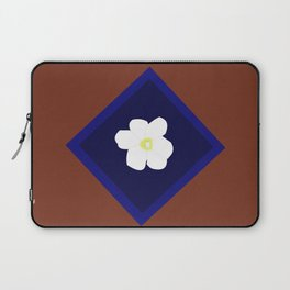 White blossom in my heart Laptop Sleeve