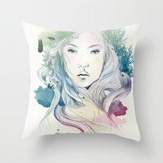aoki Throw Pillow