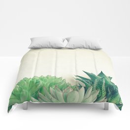 Succulent Forest Comforters