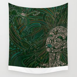 Precognition v04 Wall Tapestry