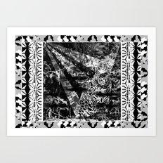 Tiger and stuff Art Print