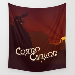 Final Fantasy VII - Cosmo Canyon Tribute Wall Tapestry