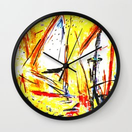 Indian Summer Wall Clock