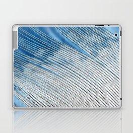 Feathers | White and Blue Feather Tip | Spirit | Nadia Bonello Laptop & iPad Skin