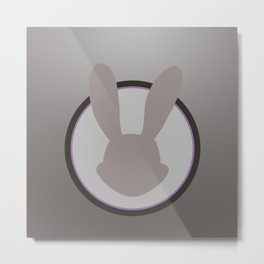 Judy Hopps Minimal Metal Print