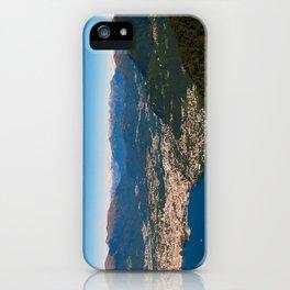 Sighignola iPhone Case