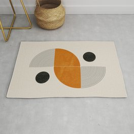 Abstract Geometric Shapes Rug