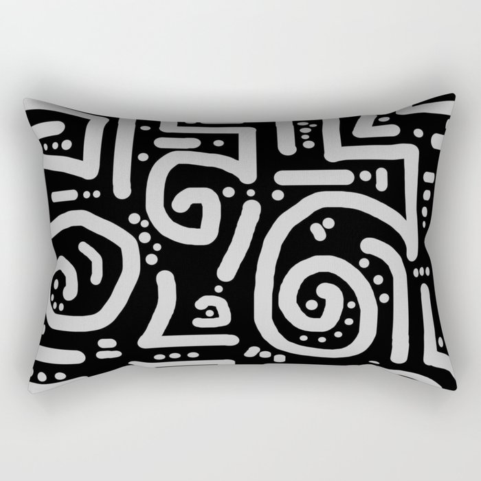 Path Less Traveled Rectangular Pillow