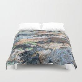 Mossy Granite Duvet Cover