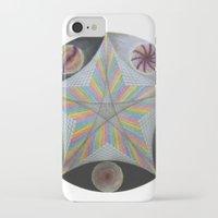 pentagram iPhone & iPod Cases featuring Galactic Pentagram (ANALOG zine) by johngerGEOs