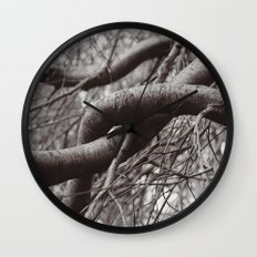 Entwined Wall Clock