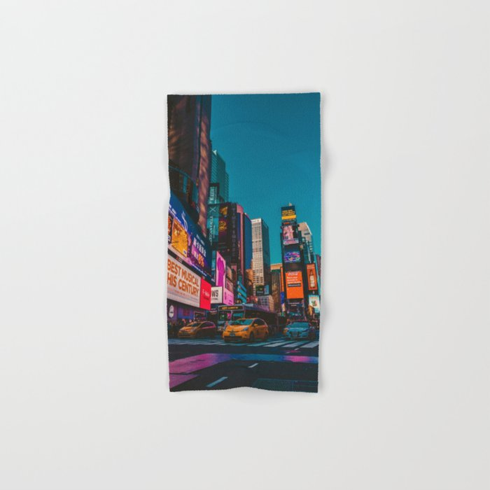 City Lights NYC (Color) Hand & Bath Towel
