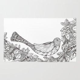 Tree Bird Rug