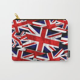 Union Jack British England UK Flag Carry-All Pouch