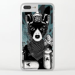 RAD RIDE and SPRAY CANS Clear iPhone Case