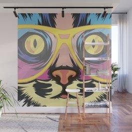 Pop Cat Wall Mural