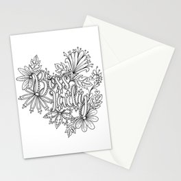 Boss Lady Adult Coloring Design Stationery Cards