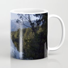 Perfect Symmetry - A New Zealand Mountain View Coffee Mug