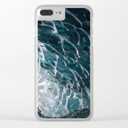 Cave of waves Clear iPhone Case
