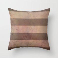 Mars Stripes Throw Pillow