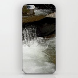 Icy Waters of Fall Creek at Vallecito iPhone Skin