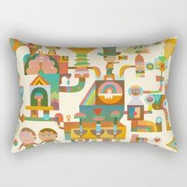 The Chipper Widget Rectangular Pillow