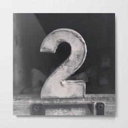 Number Crazy #2 Metal Print