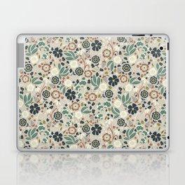 Flourishing Florals (Light-Green) Laptop & iPad Skin