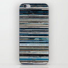 Old Vinyl iPhone Skin