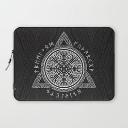 The helm of awe Laptop Sleeve
