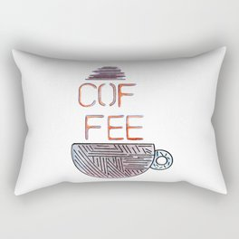 Coffee 2 Rectangular Pillow