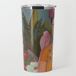 Frida a la casa azul Travel Mug