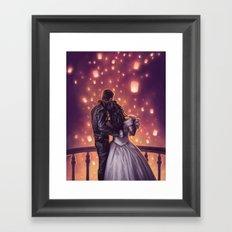Lights of Hope Framed Art Print
