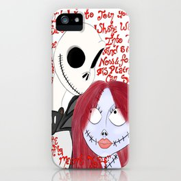 We Can Be Like Jack and Sally iPhone Case