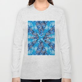 Christmas background pattern Long Sleeve T-shirt