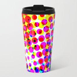 Colourful Circle Circus Travel Mug