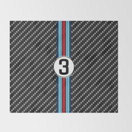 martini racing Throw Blanket