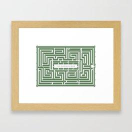 The Overlook Maze Framed Art Print
