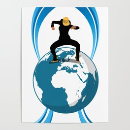 Dance on the Earth Poster