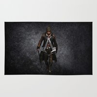 assassins creed Area & Throw Rugs featuring assassins - assassins by alexa