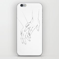 Untitled Hands No. 11 iPhone Skin