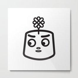 FLOWER BOI Metal Print